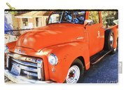Orange Gmc Pickup Truck In Idyllwild Carry-all Pouch