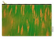 Orange Grass Spikes Carry-all Pouch
