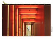 Orange Hallway Carry-all Pouch