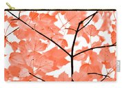 Orange Leaves Melody  Carry-all Pouch