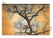 Orange Leopard Carry-all Pouch