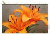 Orange Lilies 2 Carry-all Pouch