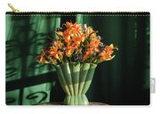 Orange Lilies In June Carry-all Pouch
