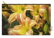 Orange Lilies Portrait Carry-all Pouch