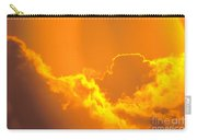Orange Misty Sky Carry-all Pouch