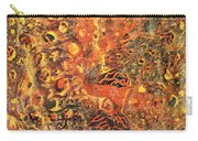 Orange Modern Art - Tiger Lily - Sharon Cummings Carry-all Pouch