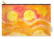 Orange Moons Carry-all Pouch