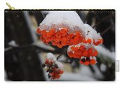 Orange Mountain Ash Berries Carry-all Pouch
