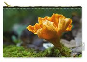 Orange Mushroom Flower On The Forest Floor Carry-all Pouch