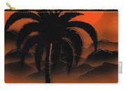 Orange Oasis Carry-all Pouch