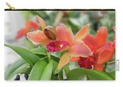 Orange Orchids 2 Carry-all Pouch