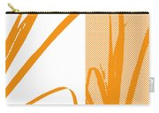 Orange Palm Carry-all Pouch