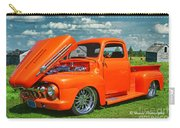 Orange Pick Up At The Car Show Carry-all Pouch