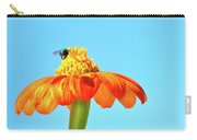 Orange Pop Flower Cafe Carry-all Pouch