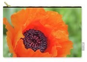 Orange Poppy Carry-all Pouch