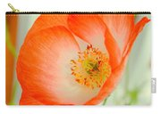 Orange Poppy Offering Nectar Carry-all Pouch