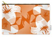 Orange Poster Lilies Carry-all Pouch