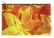 Orange Rhodies Flowers Art Rhododendron Baslee Troutman Carry-all Pouch