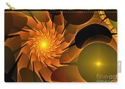 Orange Rose Blossom Carry-all Pouch