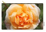Orange Rose Square Carry-all Pouch