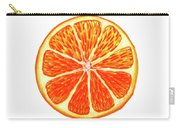 Orange Slice Carry-all Pouch