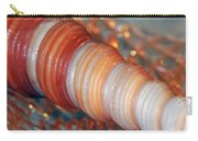 Orange Spiral Shell Carry-all Pouch