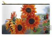 Orange Sunflower 1 Carry-all Pouch