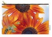 Orange Sunflower 2 Carry-all Pouch
