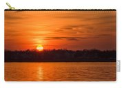 Orange Sunset Sky Island Heights Nj Carry-all Pouch