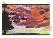 Orange Sunset Spectator Carry-all Pouch