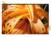 Orange Tiger Lily Flower Art Prints Giclee Baslee Troutman Carry-all Pouch