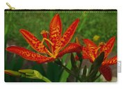 Orange Tiger Lily Carry-all Pouch