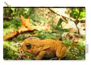 Orange Toad Carry-all Pouch