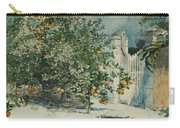 Orange Trees And Gate Carry-all Pouch