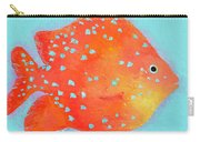 Orange Tropical Fish Carry-all Pouch