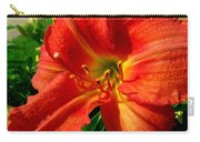 Orange Trumpeting Lily Carry-all Pouch