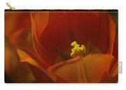 Orange Tulip Art Carry-all Pouch