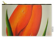 Orange Tulip Still Life Carry-all Pouch