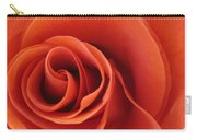 Orange Twist Rose 5 Carry-all Pouch