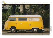 Orange Vw Bus Carry-all Pouch