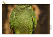 Orange-winged Amazon Parrot Carry-all Pouch by Adam Romanowicz