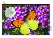 Orange Yellow Wings Carry-all Pouch