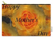 Orange You Lovely Mothers Day Carry-all Pouch