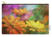 Orange Zinnia 2753 Idp_2 Carry-all Pouch
