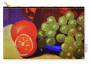 Oranges And Grapes Carry-all Pouch