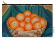Oranges In A Basket Carry-all Pouch