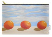 Oranges On A Ledge Carry-all Pouch