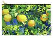 Oranges On Vine IIi Carry-all Pouch