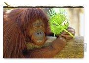 Orangutan Carry-all Pouch by Carolyn Marshall