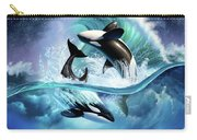 Orca Wave Carry-all Pouch